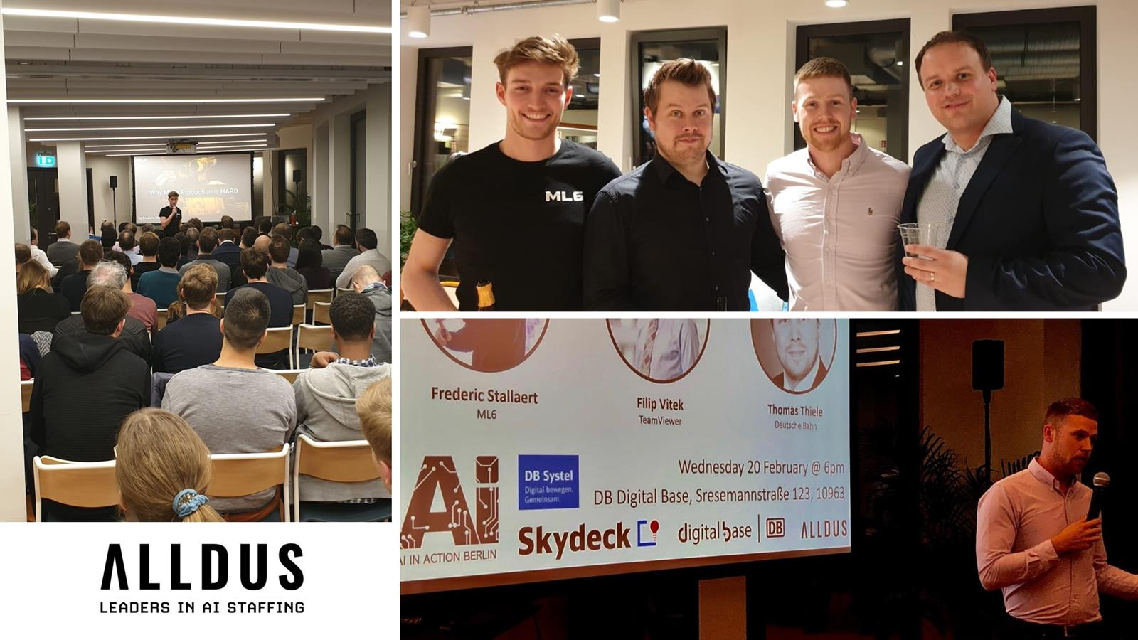 February Ai In Action Berlin Meetup Recap Alldus International Images, Photos, Reviews